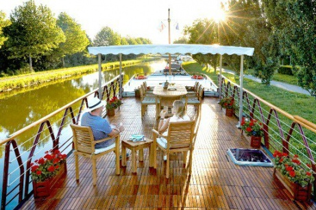 Luxury Barging in France