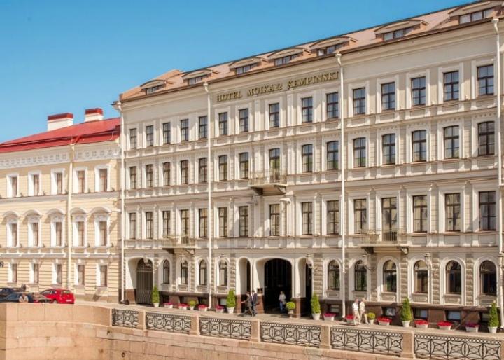 Facade, Kempinski Hotel Moika 22
