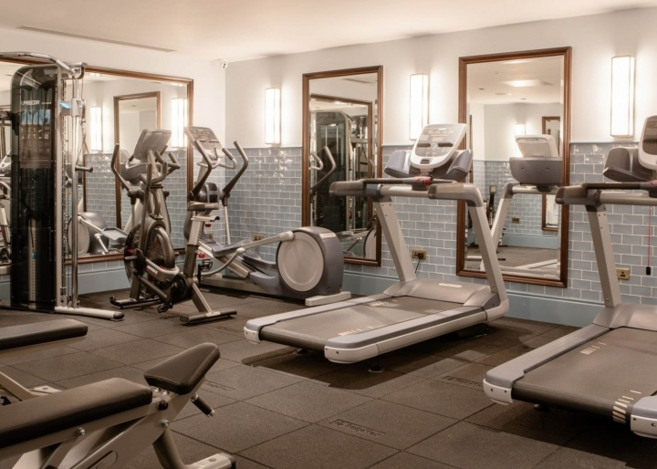 Green hotel gallery - gym