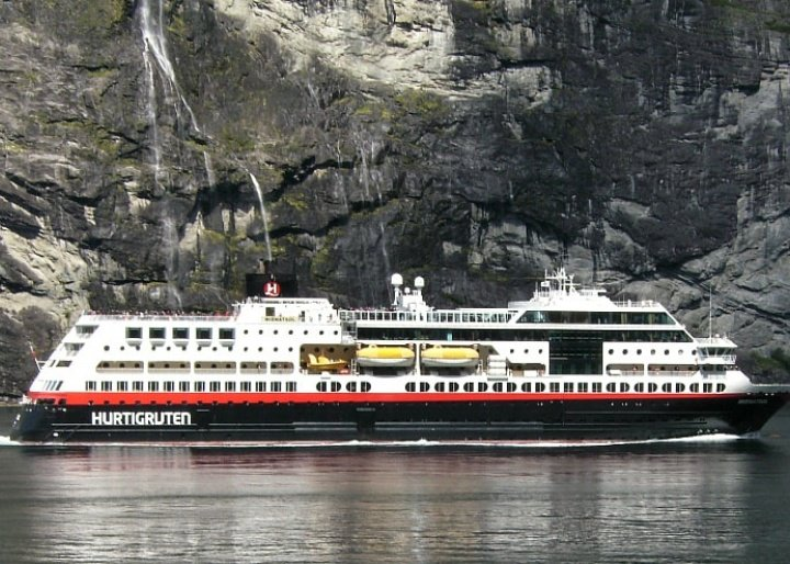 Hurtigruten ship, Norway