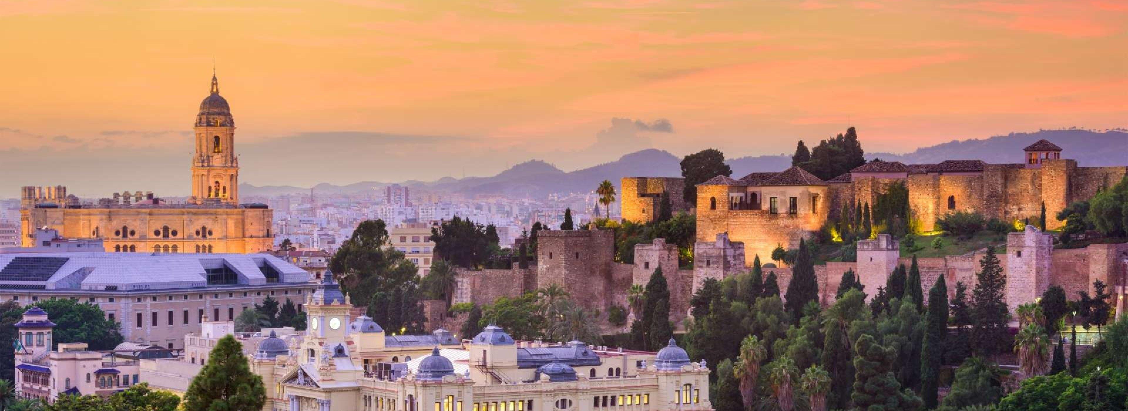Panoramic Views of Malaga