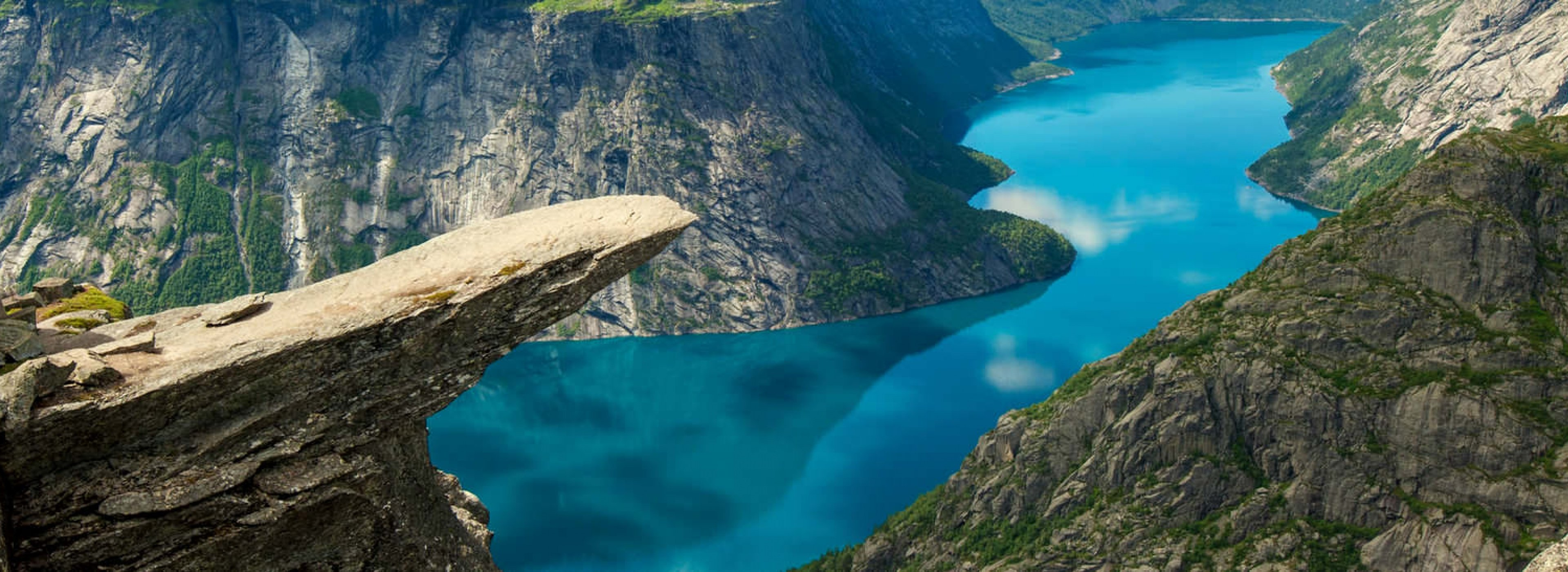 Travel to Norway to enjoy the beauty of spectacular Scandinavian fjords and nature