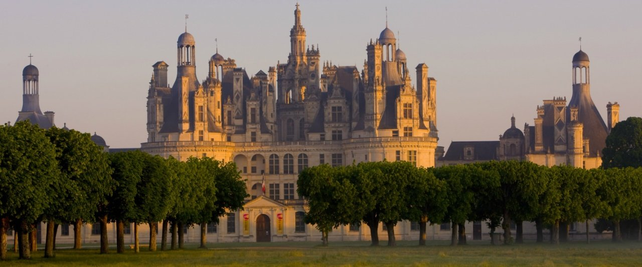 Chateau de Chambord is the world renown masterpiece of classic French Renaissance