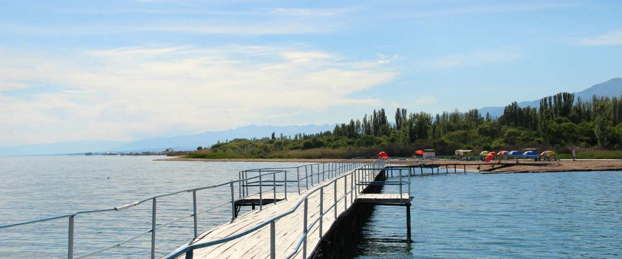 Lake Issyk Kul, Kyrgyzstan