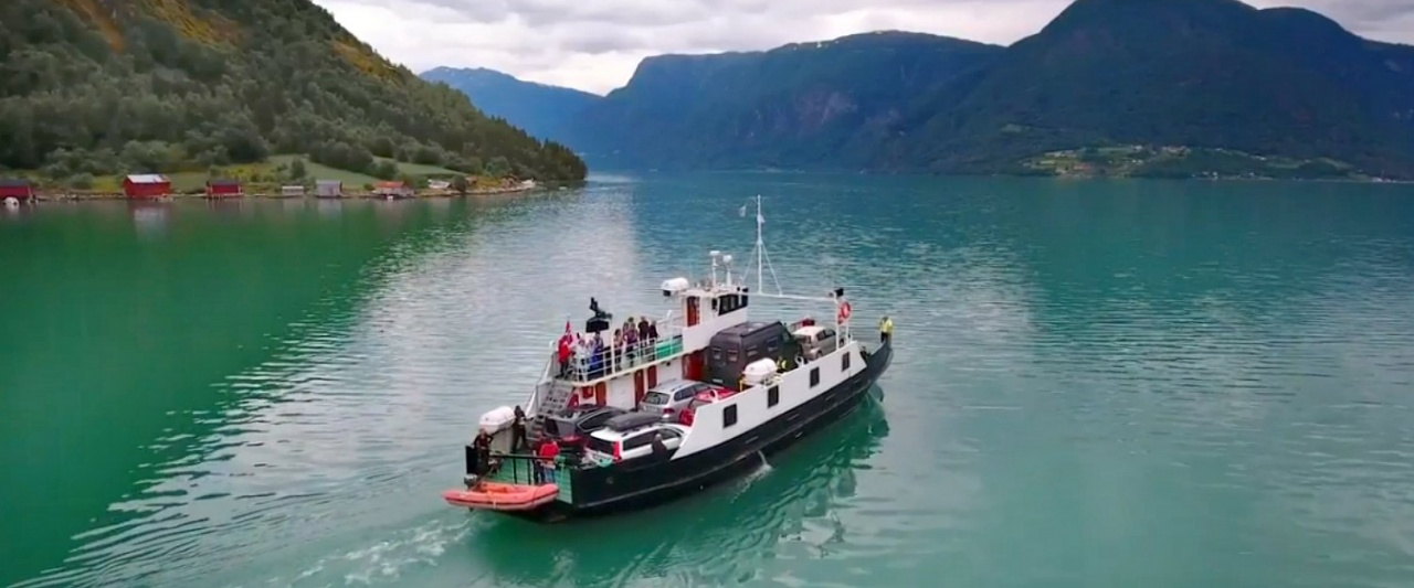 Sognafjord boat (Flam to Bergen), Norway