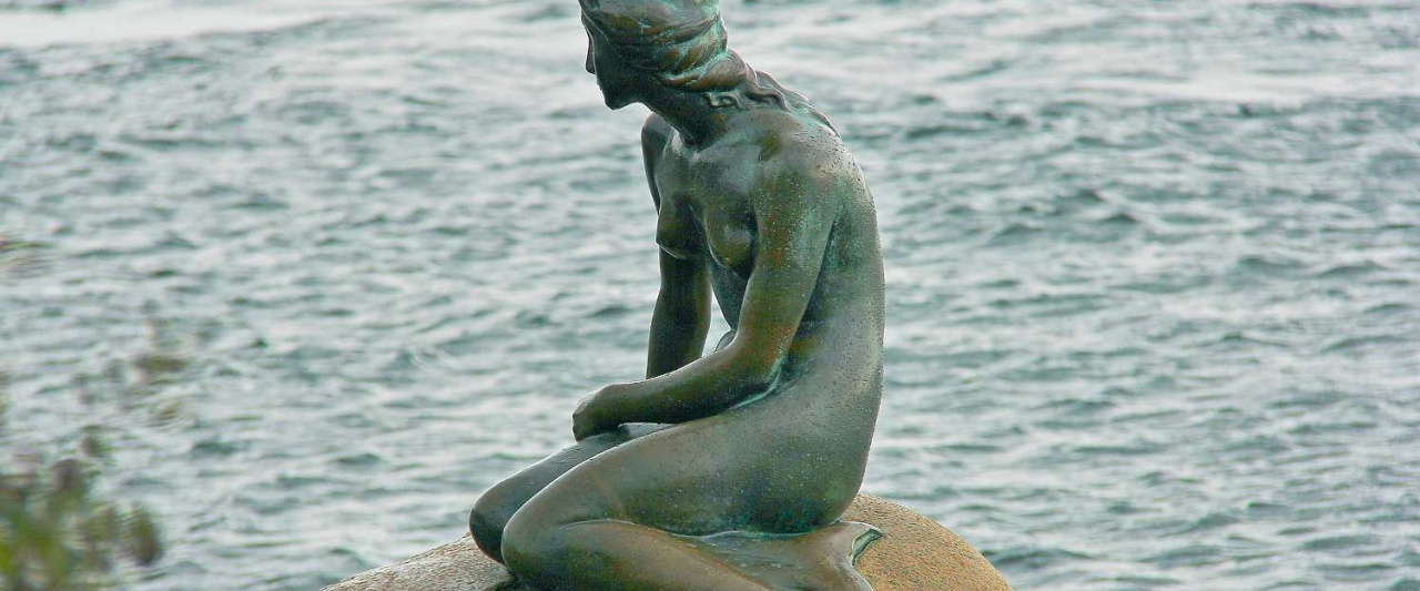 The Little Mermaid, Copenhagen, Denmark