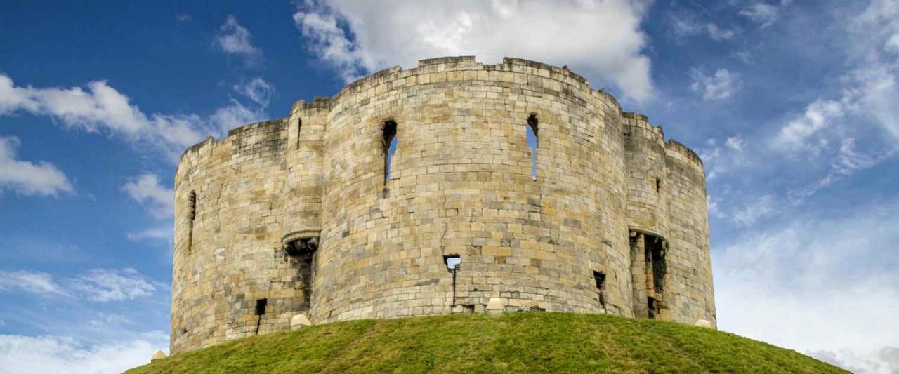 Clifford's Tower, York, United Kingdom