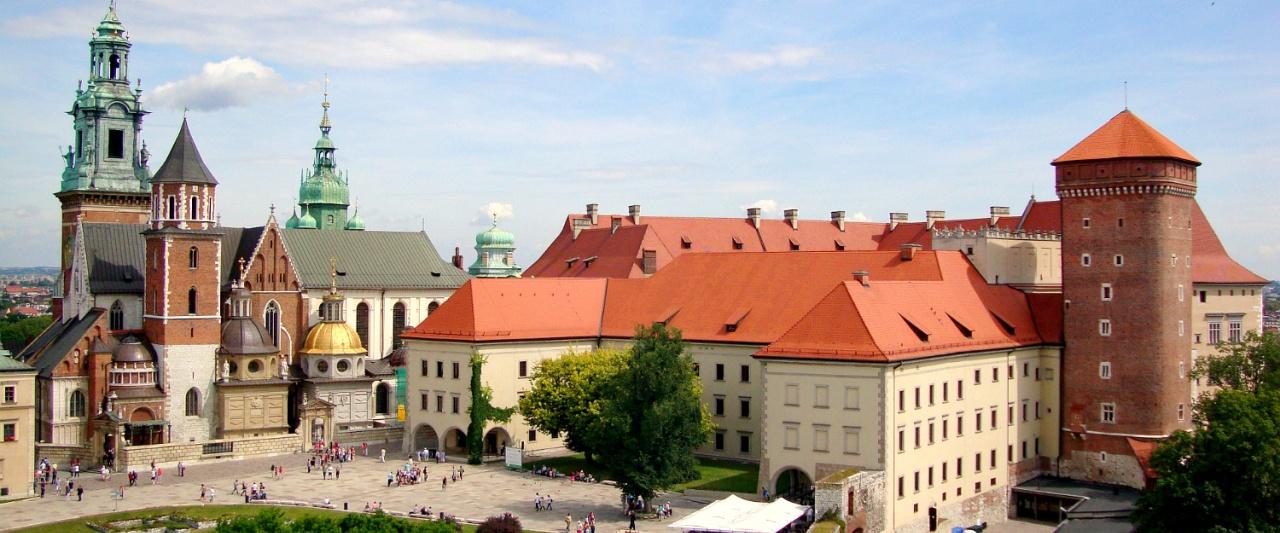 Krakow Wawel Castle, Poland