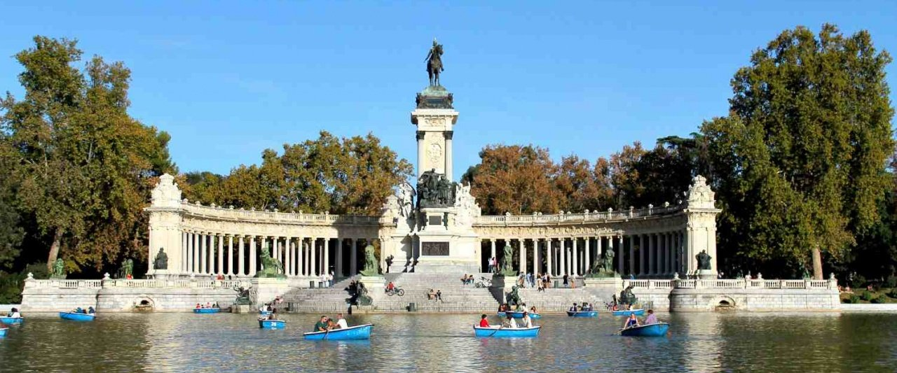 Retiro Park, Madrid, Spain