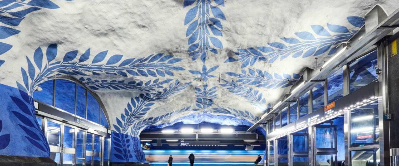 Stockholm Metro, Sweden