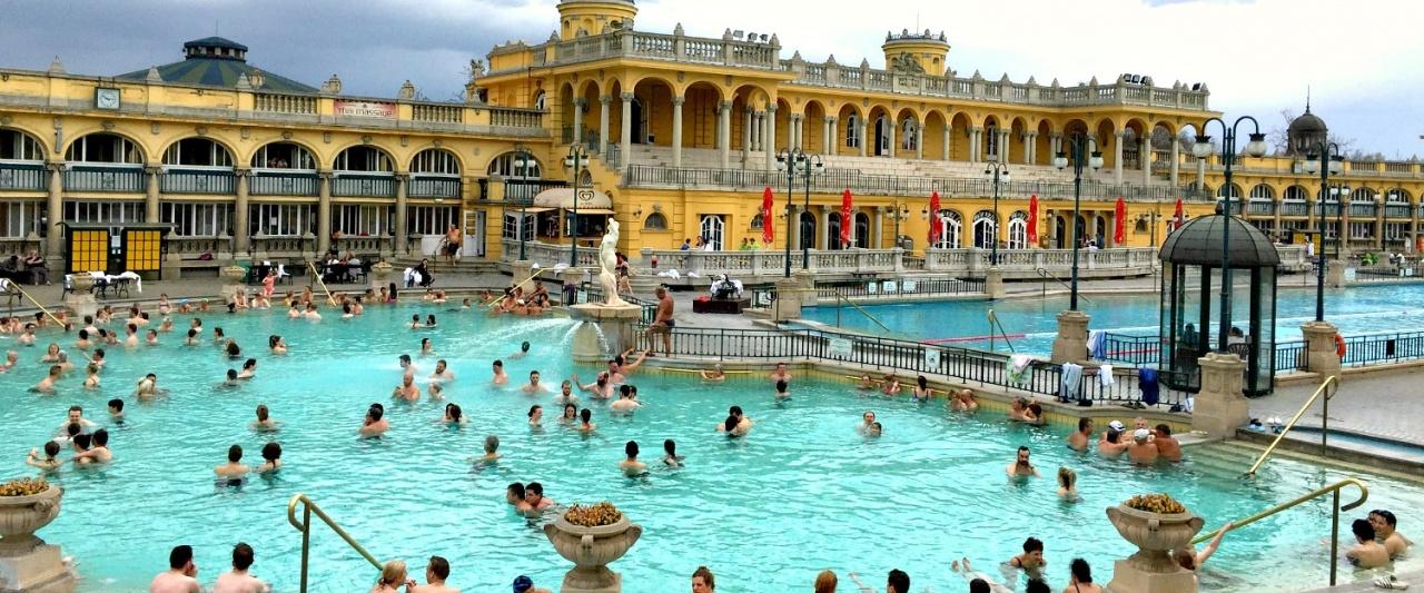 Szechenyi Spa Baths, Budapest, Hungary
