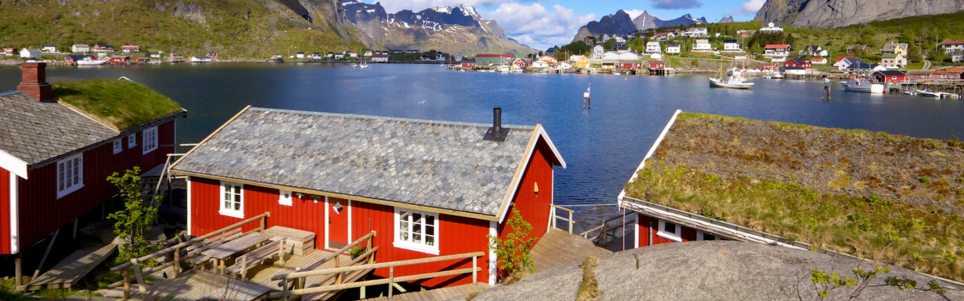 See the most famous Norwegian hallmarks, including iconic red wooden houses on your Scandinavia tour