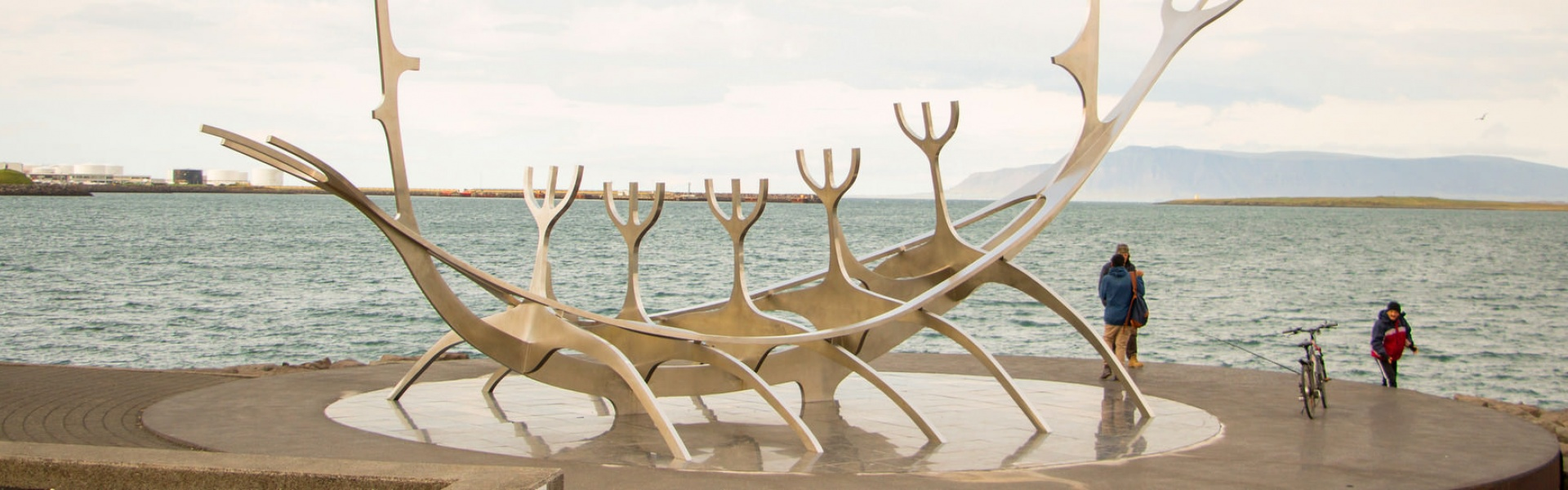 Explore the most famous Reykjavik landmarks, including the striking Sun Voyager sculpture