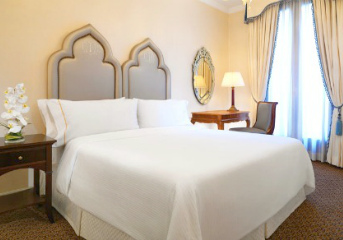 5-star accommodation at top hotels